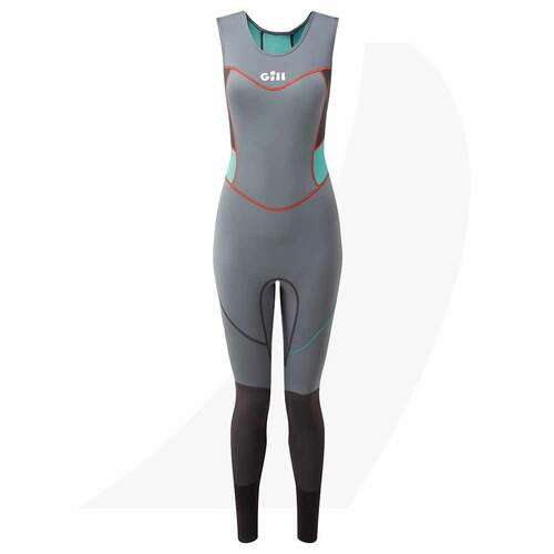 Gill Women's Zenlite Skiff Suit Black 5002W Front View