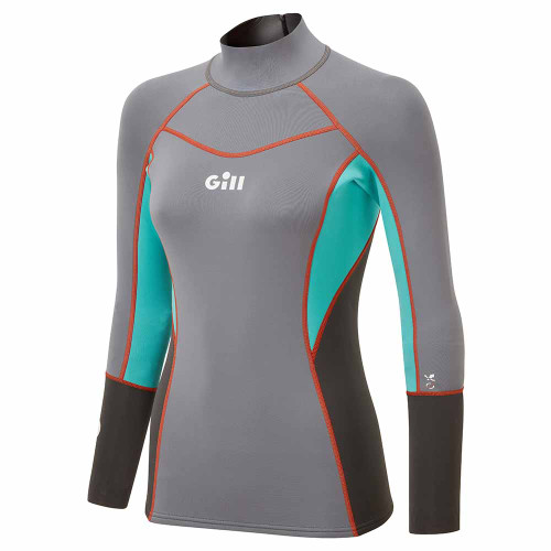 Gill Women's Zenlite Top Steel Front View