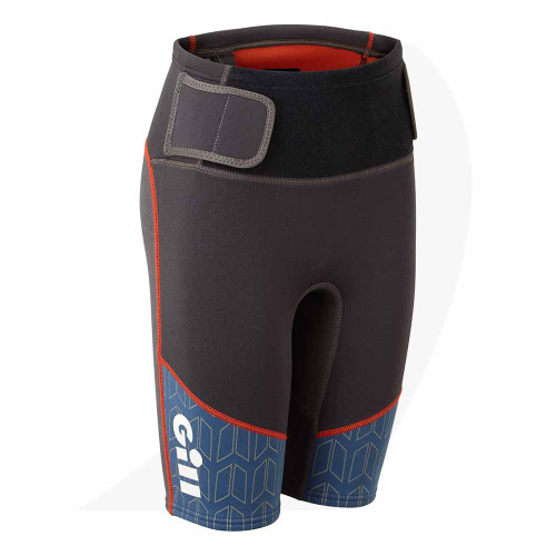 Gill Junior Zenlite Shorts Graphite 5004J Front View