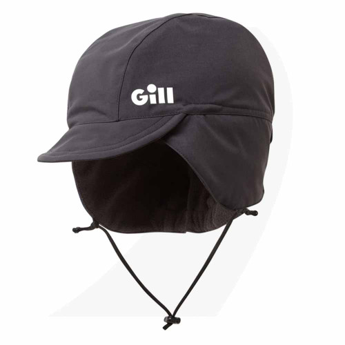 Gill OS Waterproof Hat Graphite HT44 Front