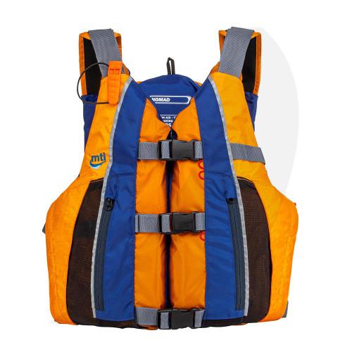 MTI Lifejacket Nomad Mango/Saffire 411F-0EB Front View