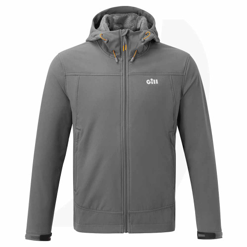 Gill Men's Rock Softshell Jacket Ash 1102 Front View