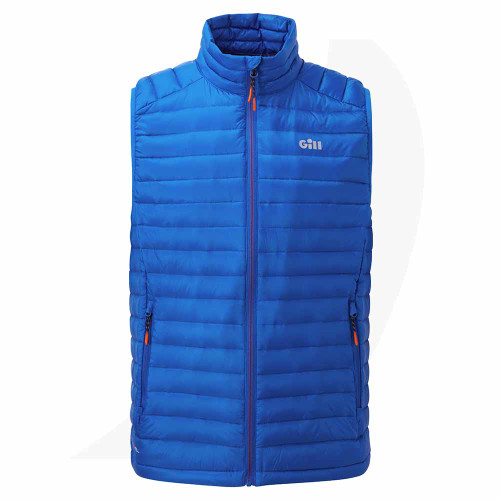 Gill Hydrophobe Down Gilet Blue 1066 Front