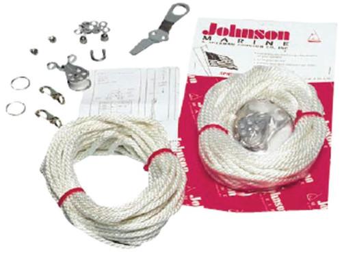 Johnson Marine Spreader Flag Halyard Kit