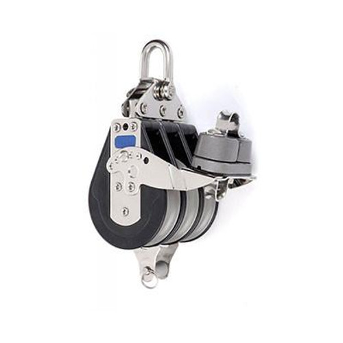 92137 - Triple Fixed with Aluminum Cam and Becket- Sailboat Hardware- Blocks