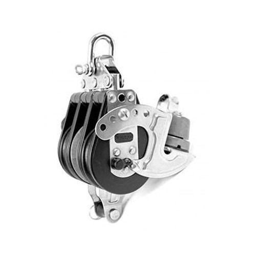 92737 - Triple Fixed with Becket and Aluminum Cam and Aluminum Central Sheave