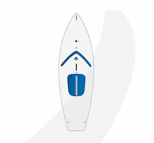 Laser Performance Sunfish Race, Navy