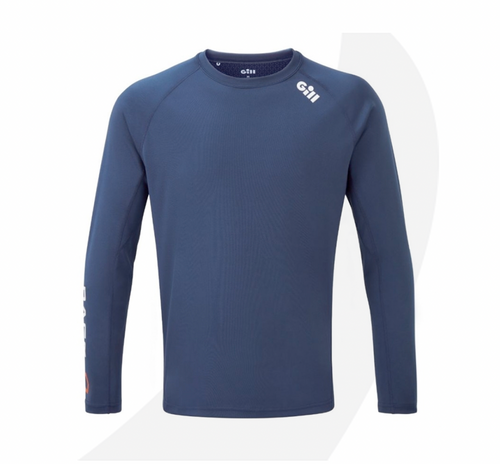 Gill Men's Race Long Sleeve Tee Dark Blue