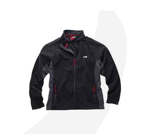 Gill  Grid Micro Fleece Jacket Black 1342