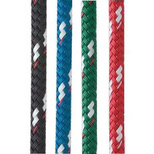 "New England Ropes Sta-Set (Solid color/ white flecks) 3/8"""
