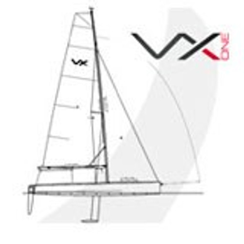 VX One Complete Jib Halyard (messenger line  + high load)