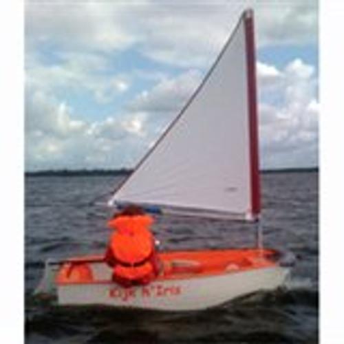 Optiparts Tri Sail, white (not class legal)