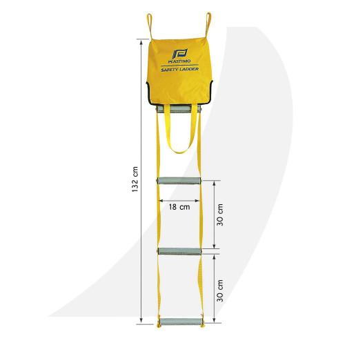Plastimo Safety Ladder 5 Step P29009