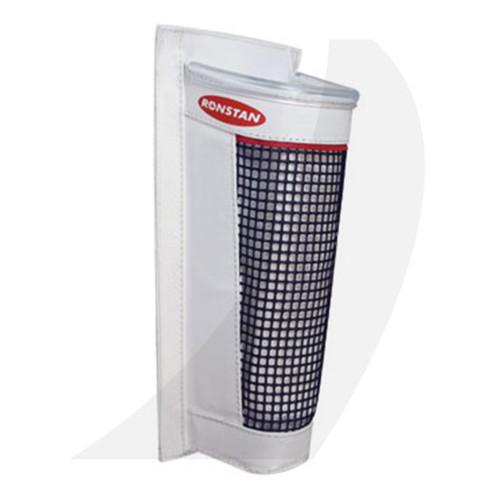 Ronstan Canvas Winch Handle Pocket White RF3841