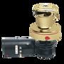 Harken Radial Rewind Electric Size 40 Polished Bronze Winch Horizontal 24 Volt DF Control Box Left Mount