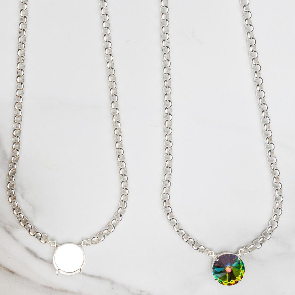 18mm Round | Pendant Necklace