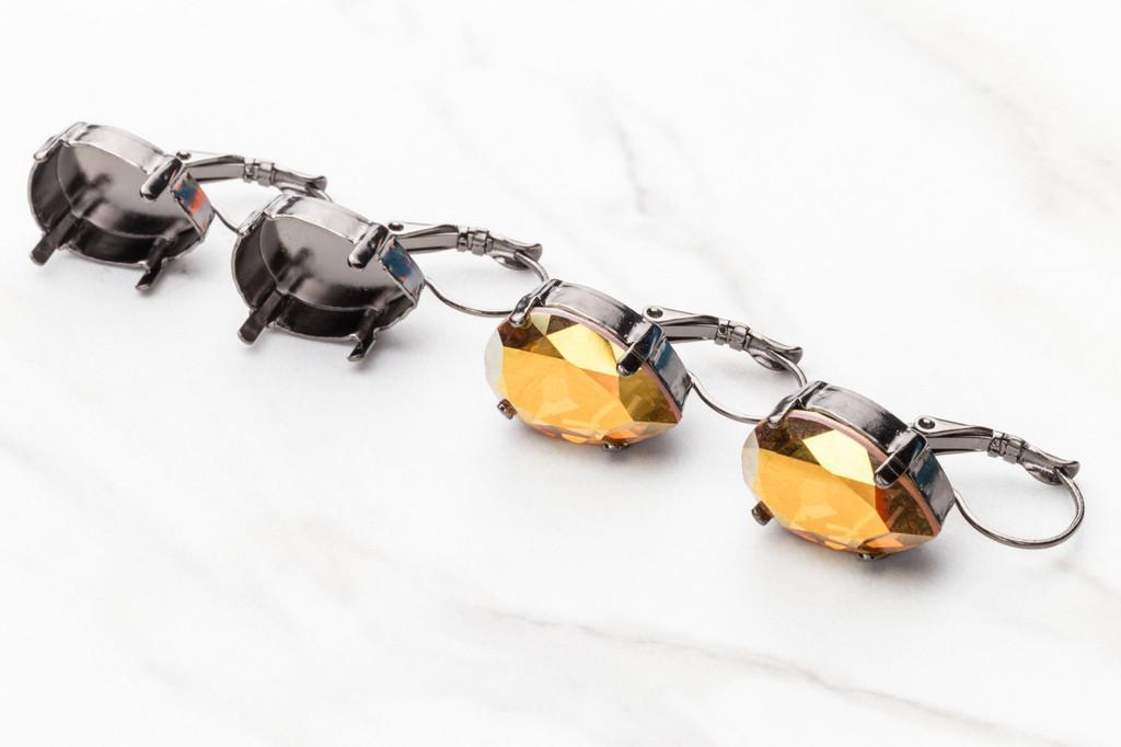 18mm x 13mm Pear Drop Earring