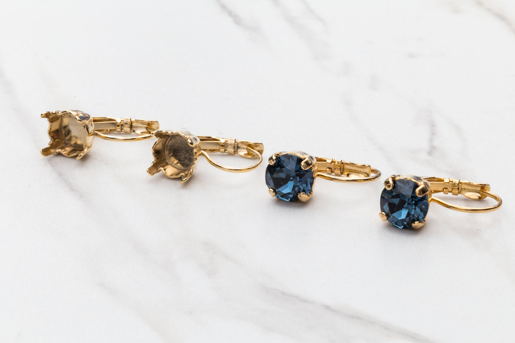 8.5mm | Classic Drop Earrings | Three Pairs