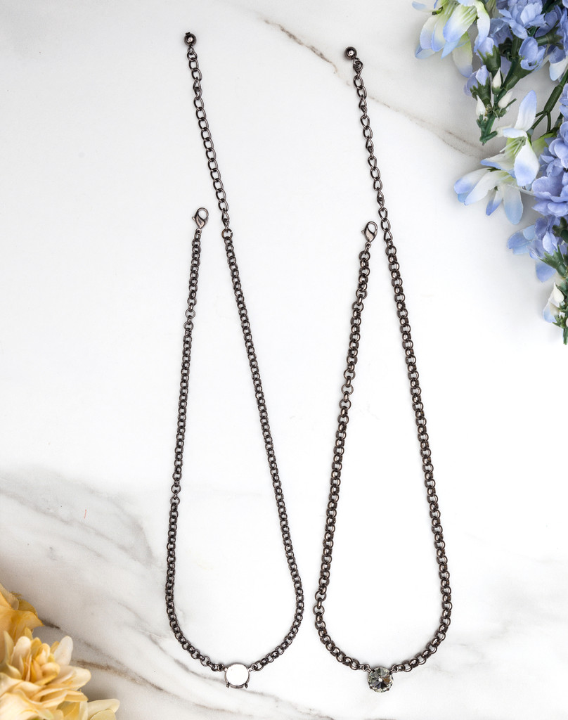 12mm Round | Pendant Necklace view 2