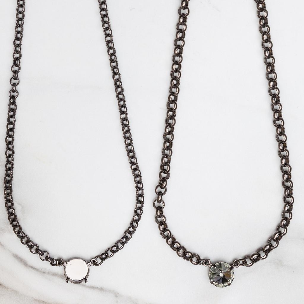 12mm Round | Pendant Necklace