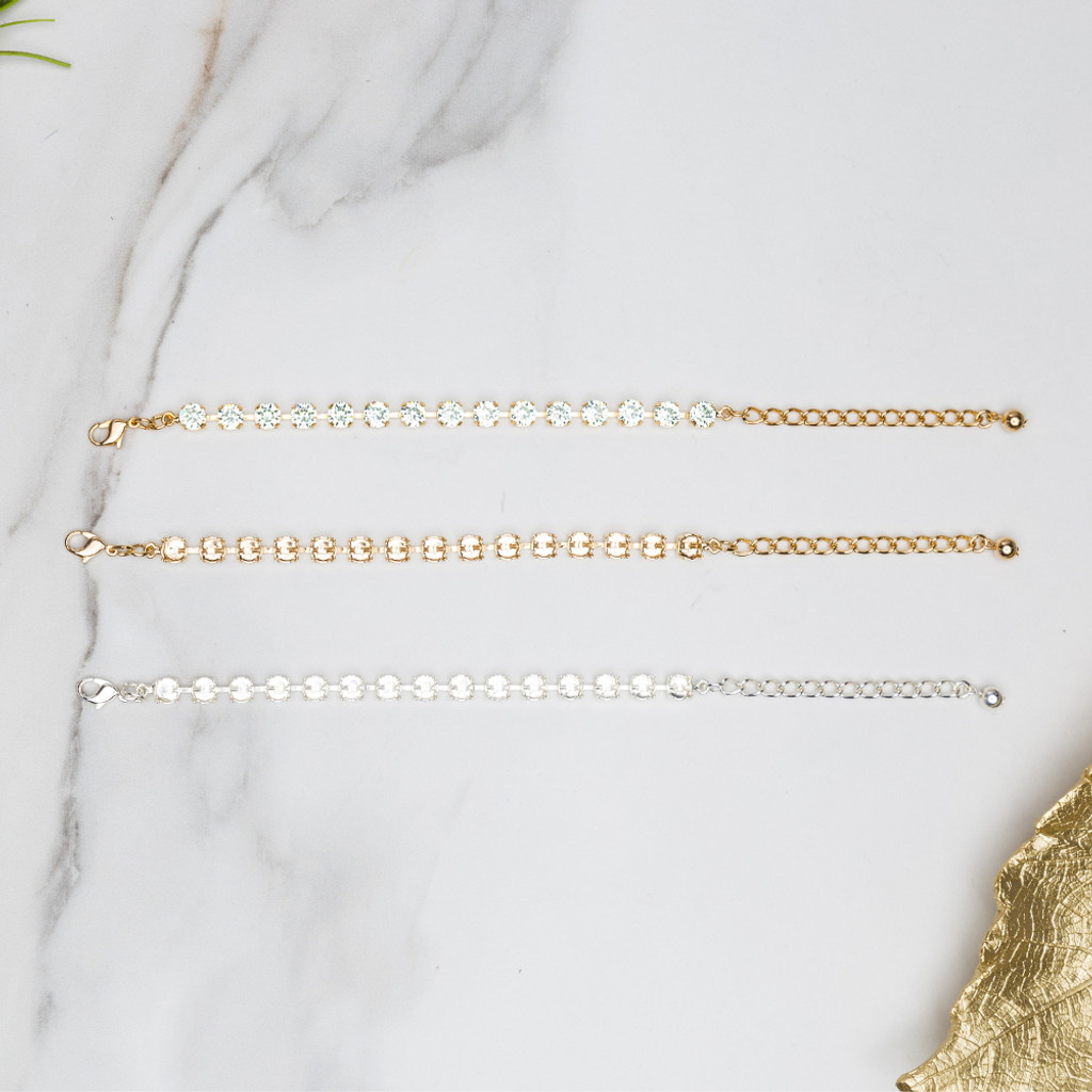 6mm | Classic Fifteen Setting Bracelets