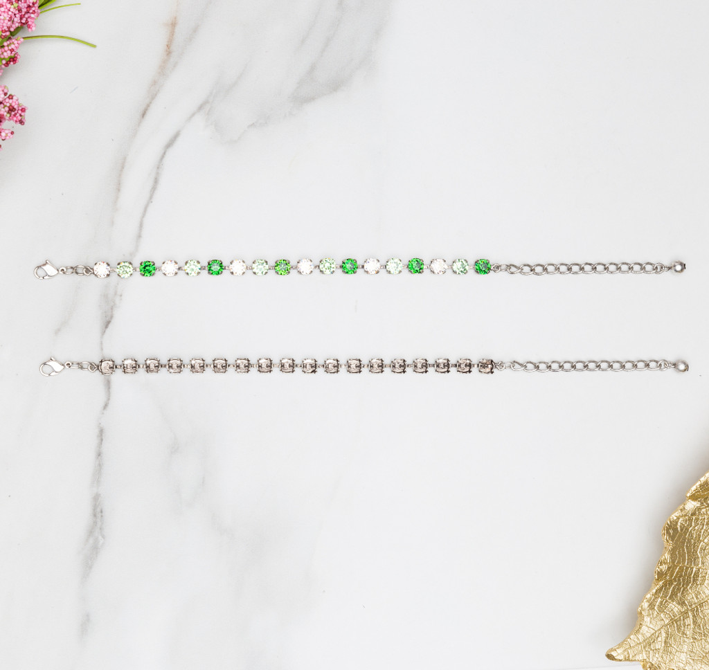 6mm | Classic Eighteen Setting Bracelets
