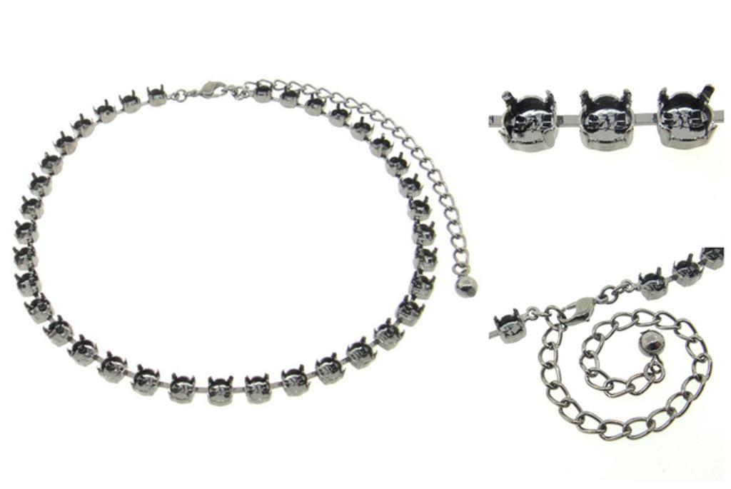 6mm (29ss) Premium European 36 Box Empty Necklaces