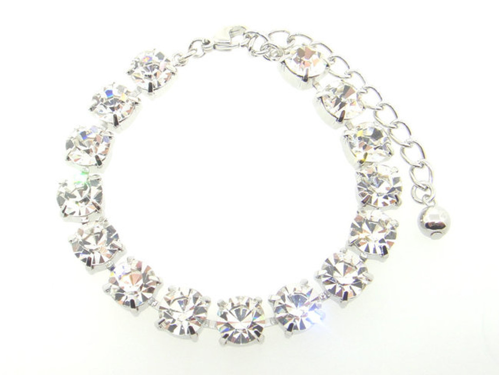 Austrian Crystal Bracelets 15 Boxes Crystal 8.5mm | 3 Pieces