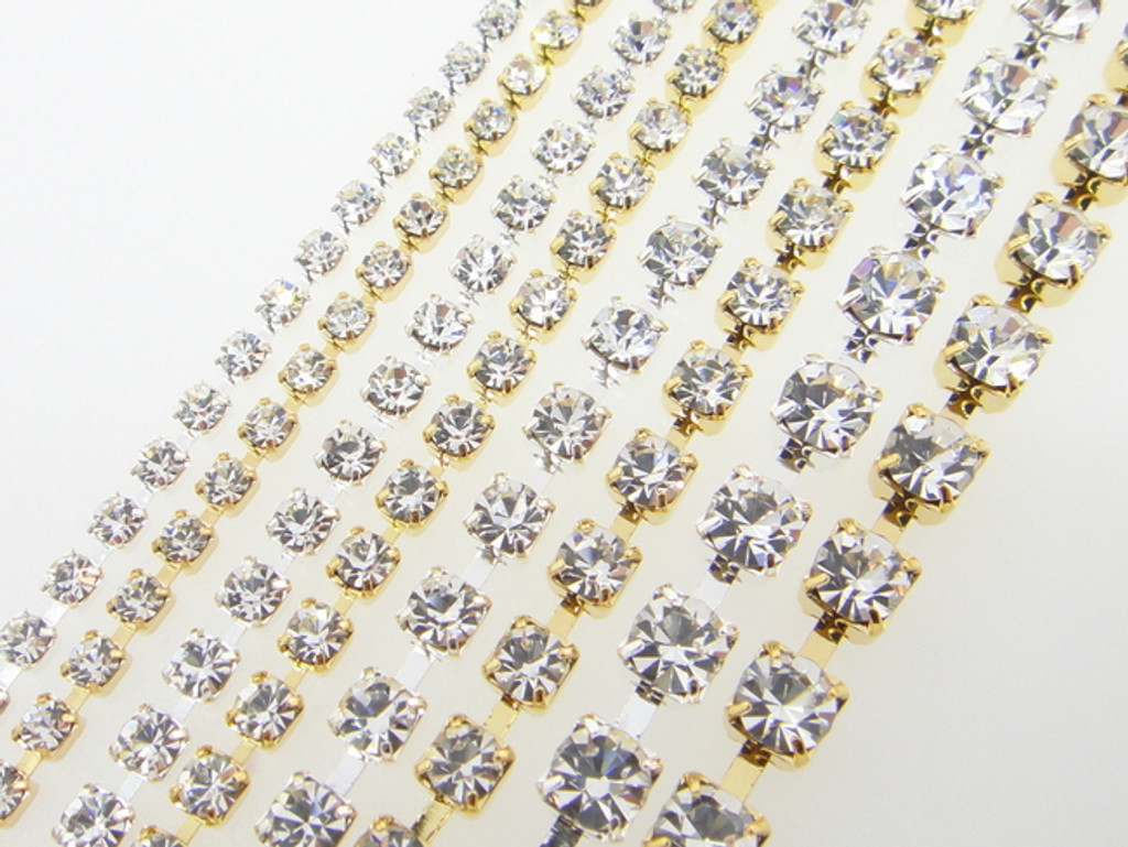 Designer's Selection Kit: Austrian Rhinestone Chain