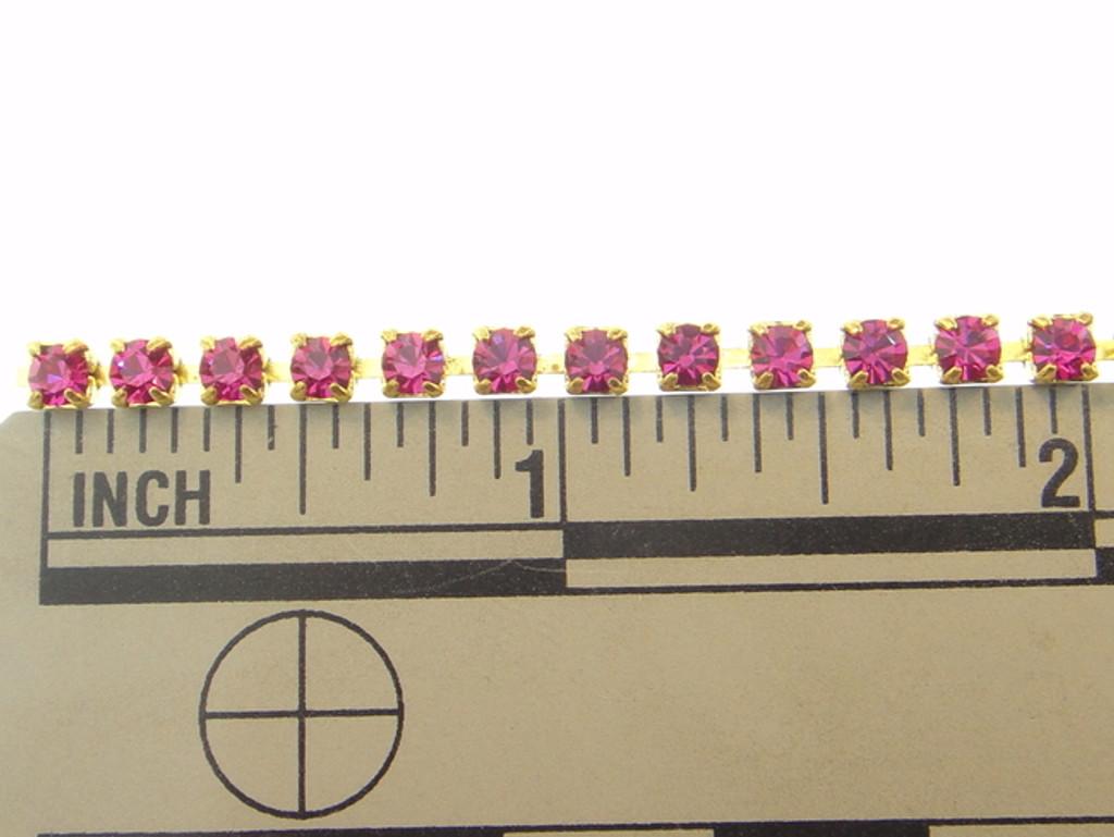3mm Rhinestone Crystal Chain