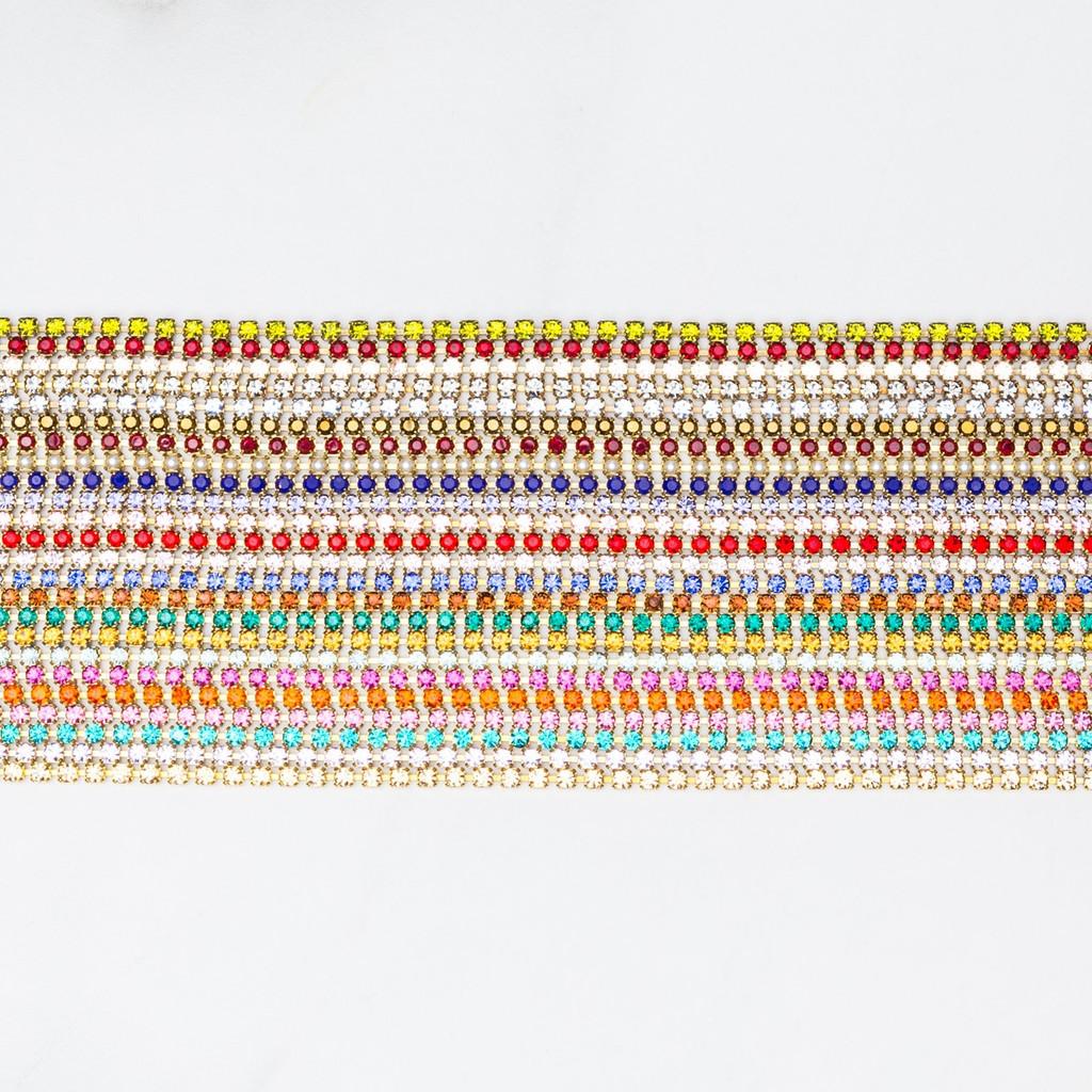 2.5mm Rhinestone Crystal Chain