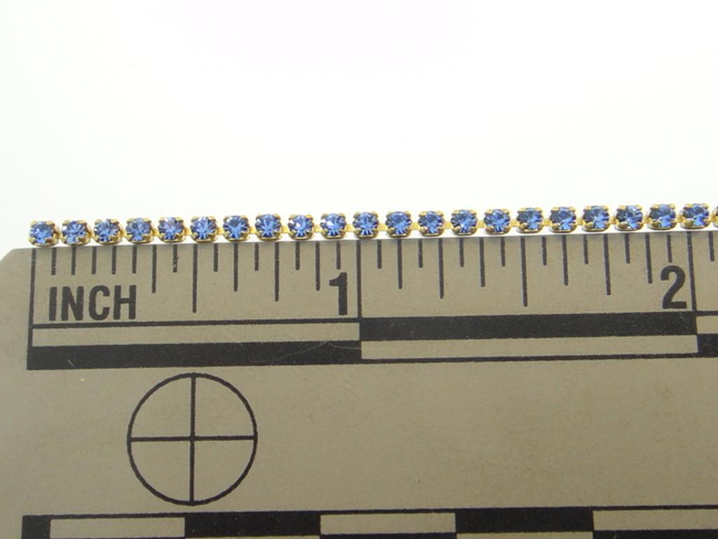 1.7mm Rhinestone Crystal Chain