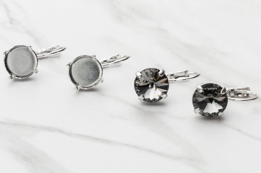 11mm | LOW PROFILE Drop Earrings | Three Pairs