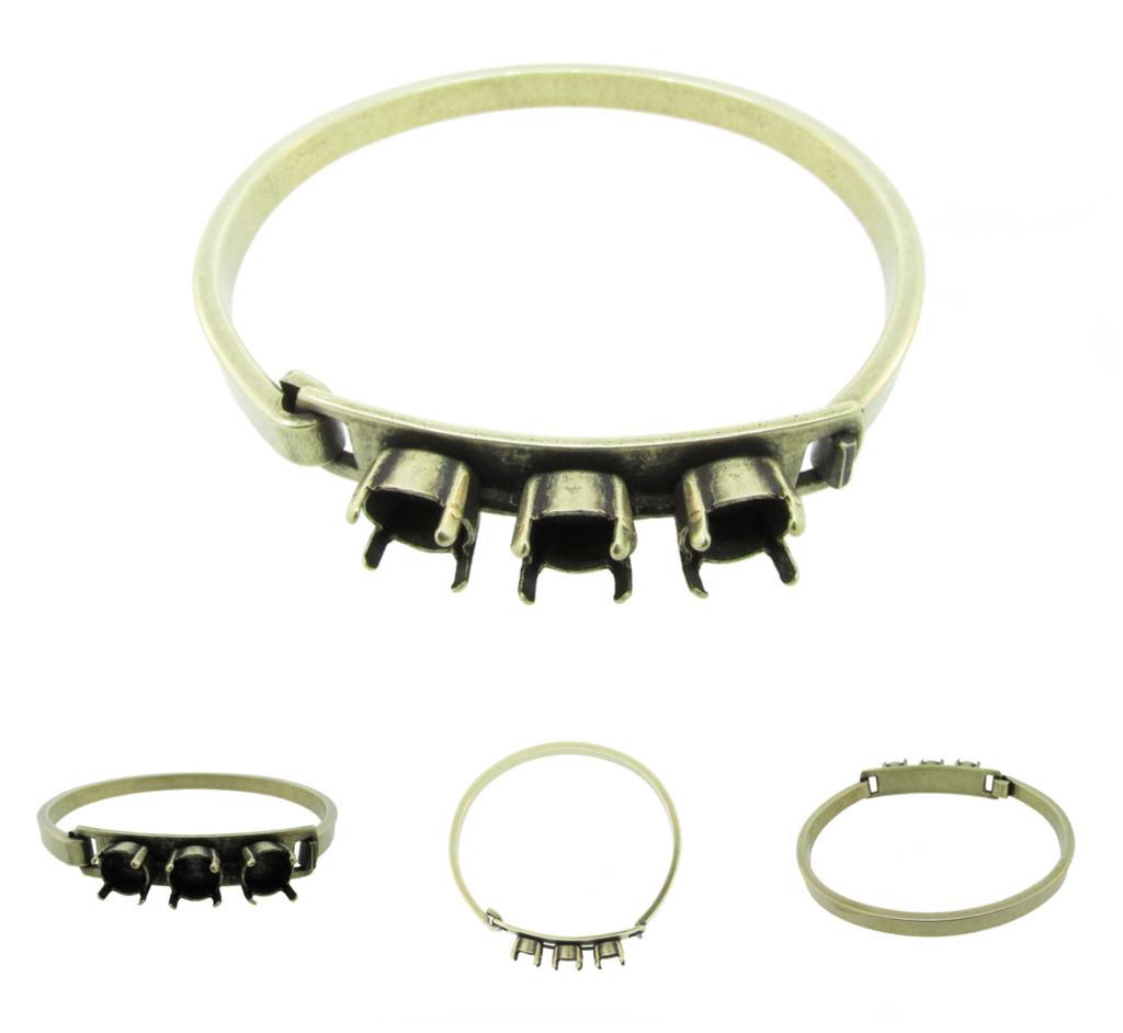 Empty Three Box 8.5mm (39ss) ID Bracelets
