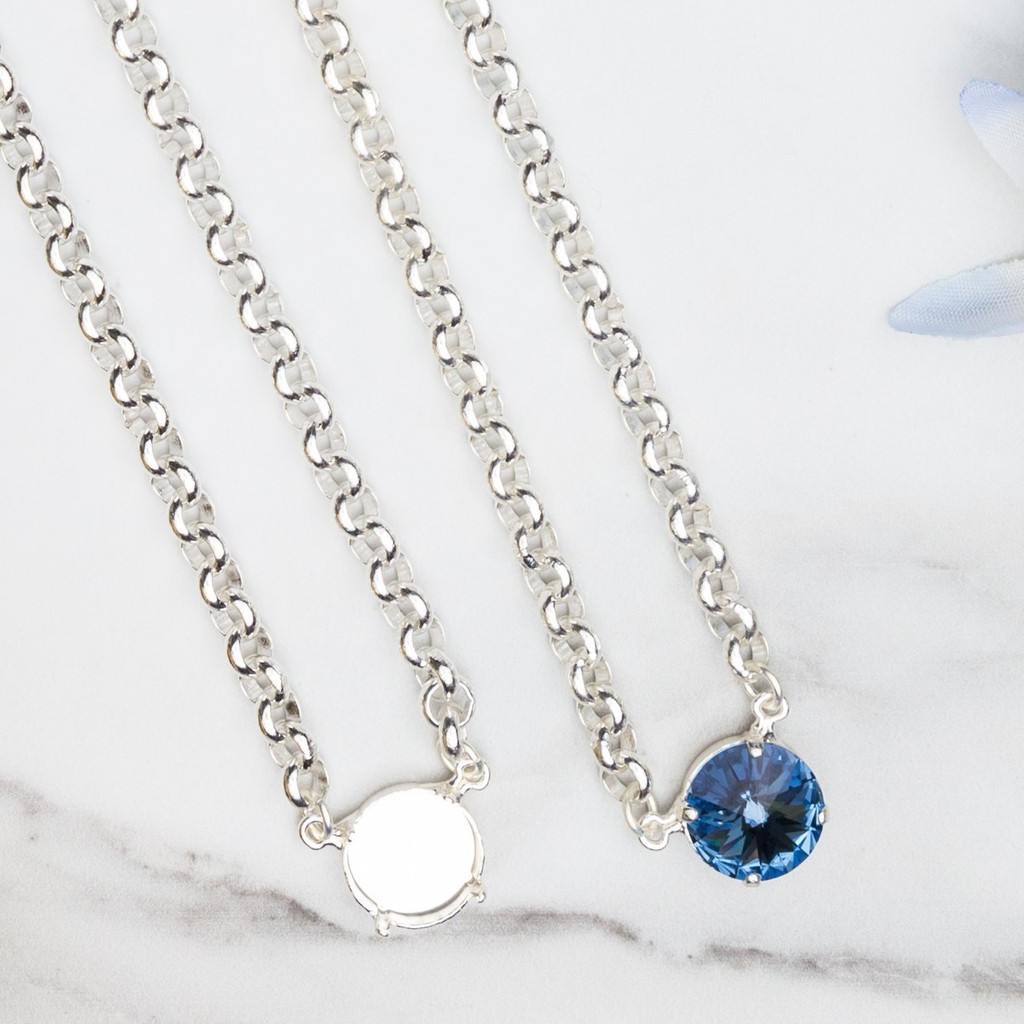 14mm Round | Pendant Necklace | Three Pieces
