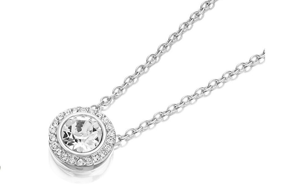 8.5mm | One Setting Crystal Pave Casted Necklace | One Piece