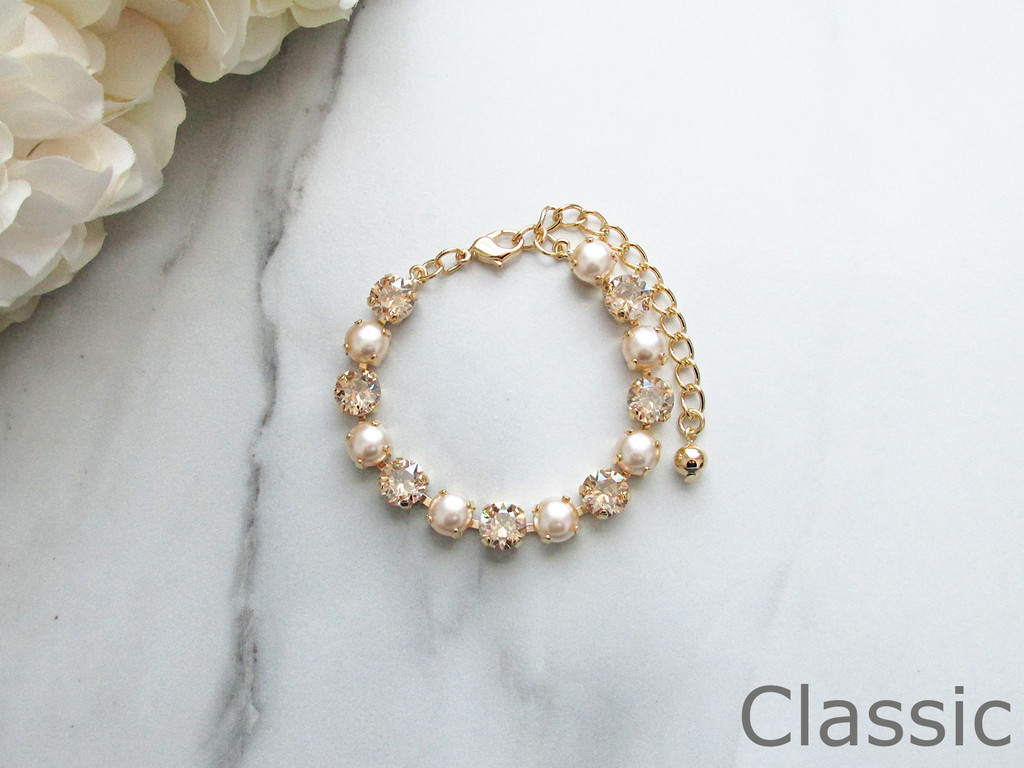 8.5mm | Tennis Bracelet & Earrings Starter Kit