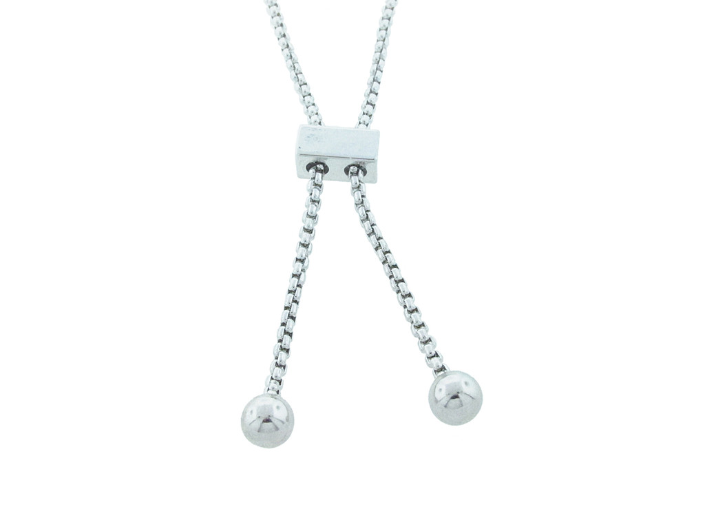 11mm | Three Setting Adjustable Slider Anklet | One Piece