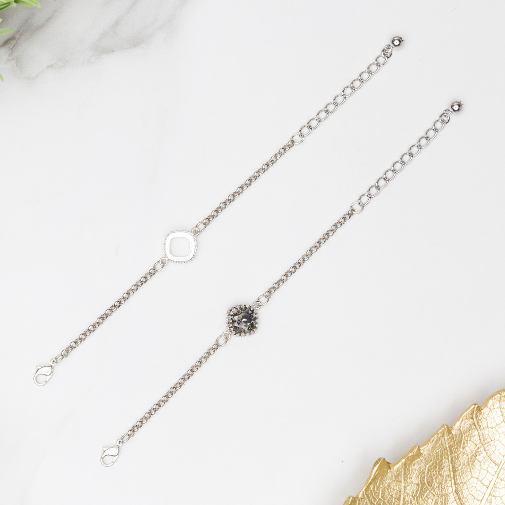 Crown Single Setting Bracelet