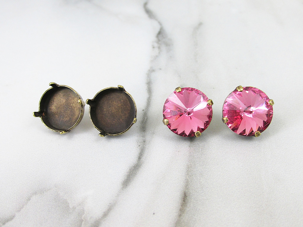 14mm Round | Classic Stud Earrings