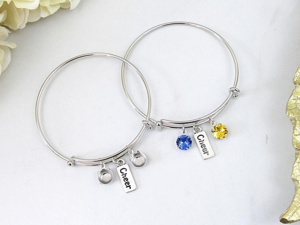 8.5mm | Cheer Charm Bangle Bracelet | One Piece