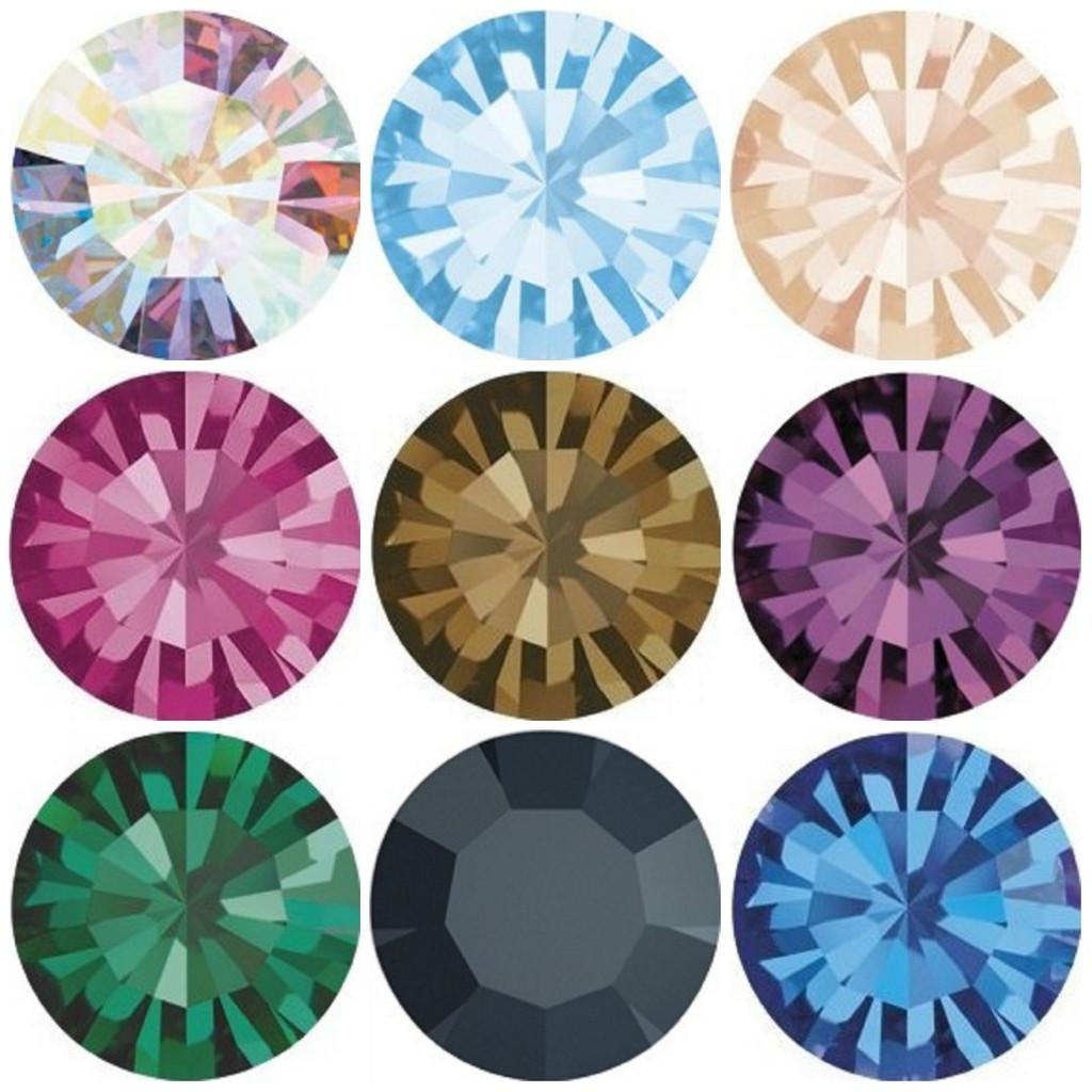11mm | Chaton | Preciosa Crystals | 12 Pieces