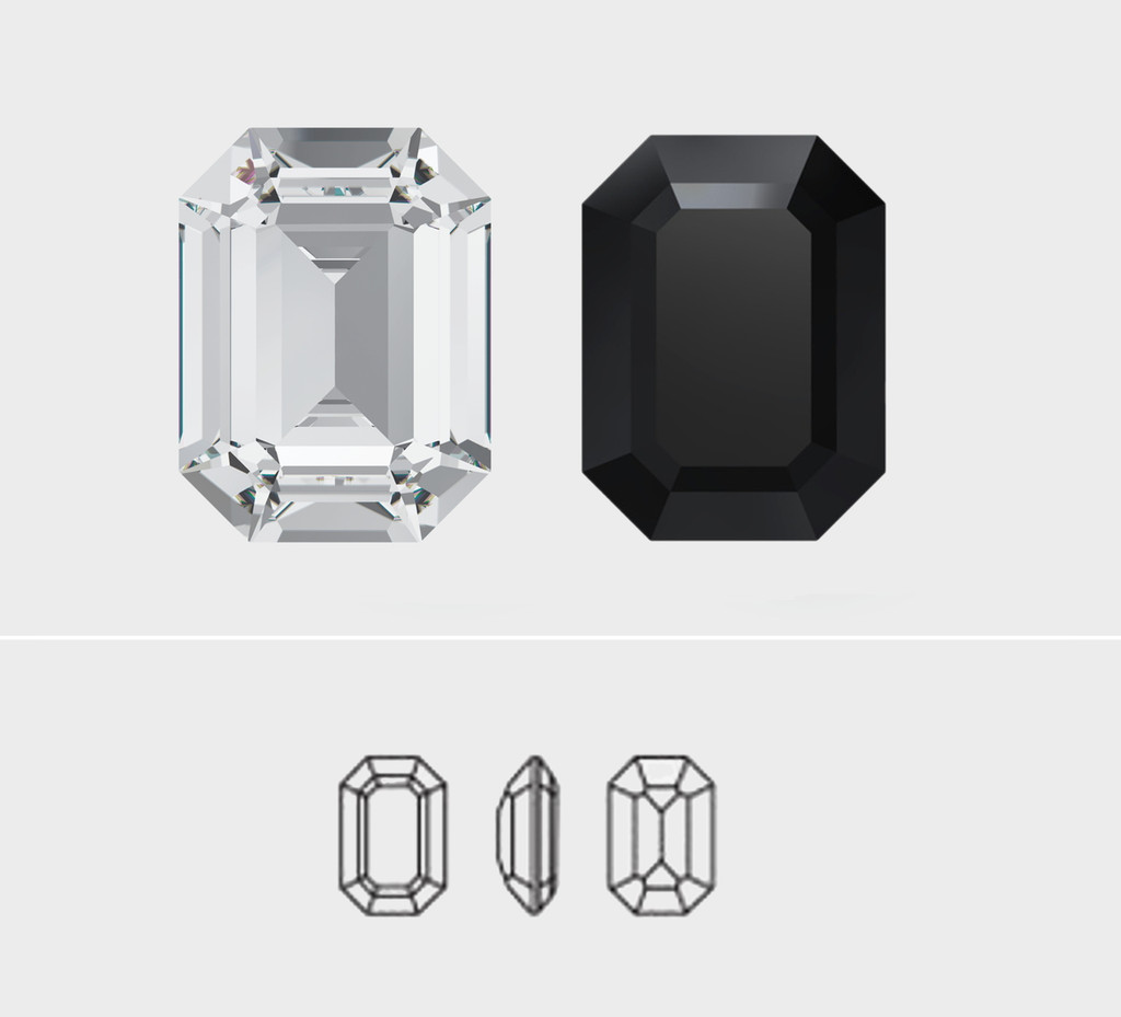 20mm x 15mm | Octagon | Swarovski Article 4610 | One Piece