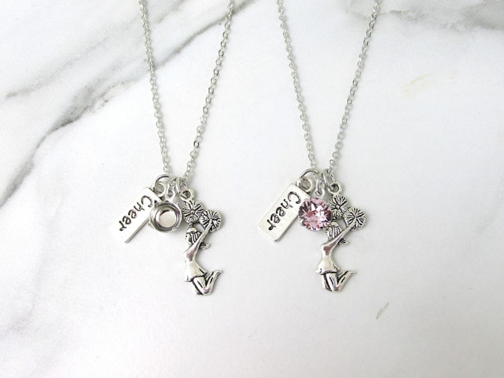 8.5mm | Cheerleader & Cheer Charm Necklace | One Piece