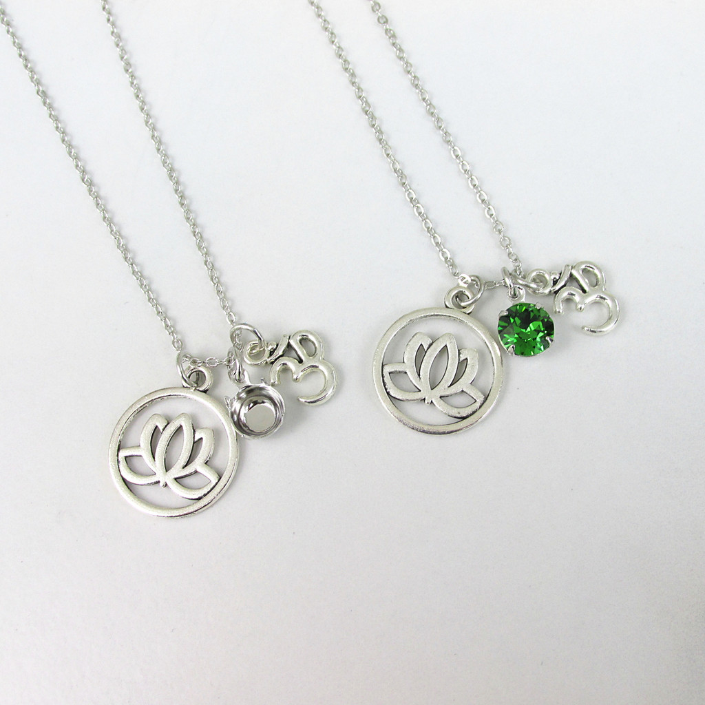 8.5mm | Mantra Charm Necklace | One Piece