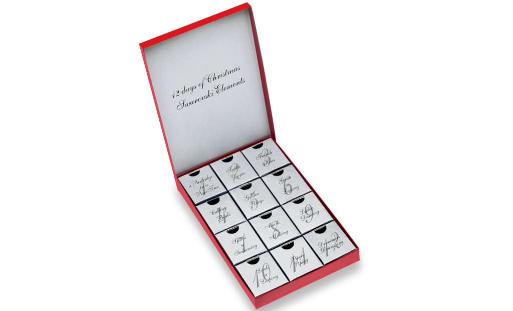 12 Days Of Christmas Mystery Jewelry Gift Set
