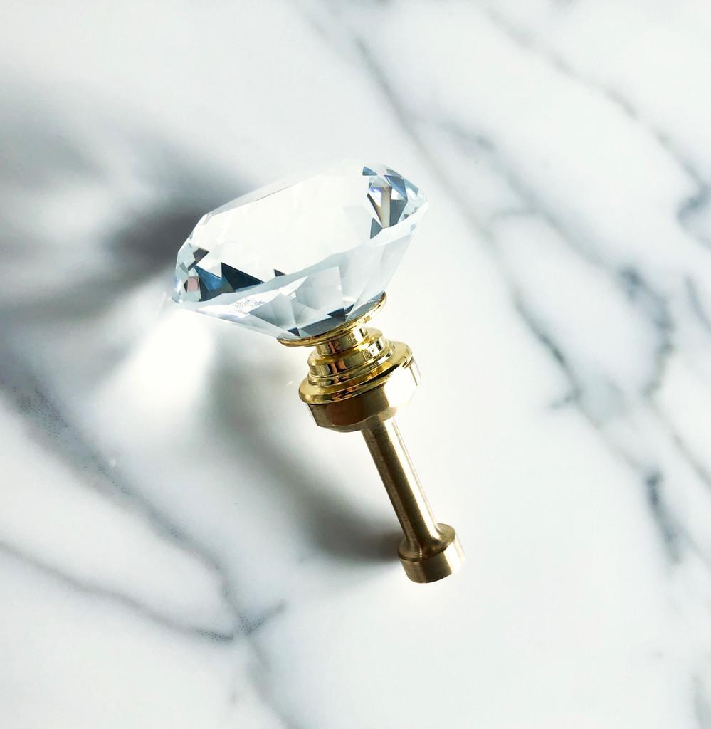 Crystal Adorned 8.5mm Prong Pushing Stone Setting Hand Tool