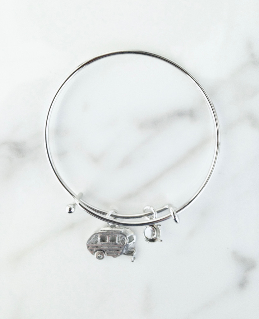 6mm | Camper Charm Bangle For Children