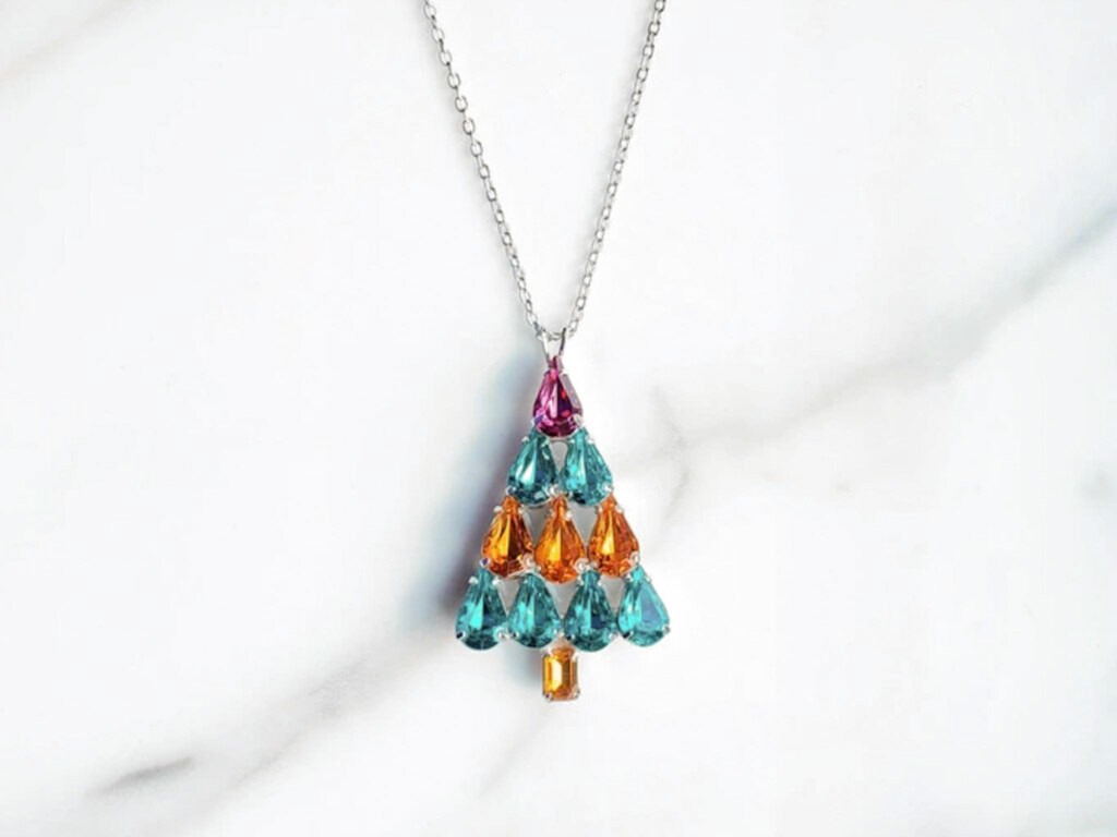 Limited Edition | Retro Christmas Tree Necklace