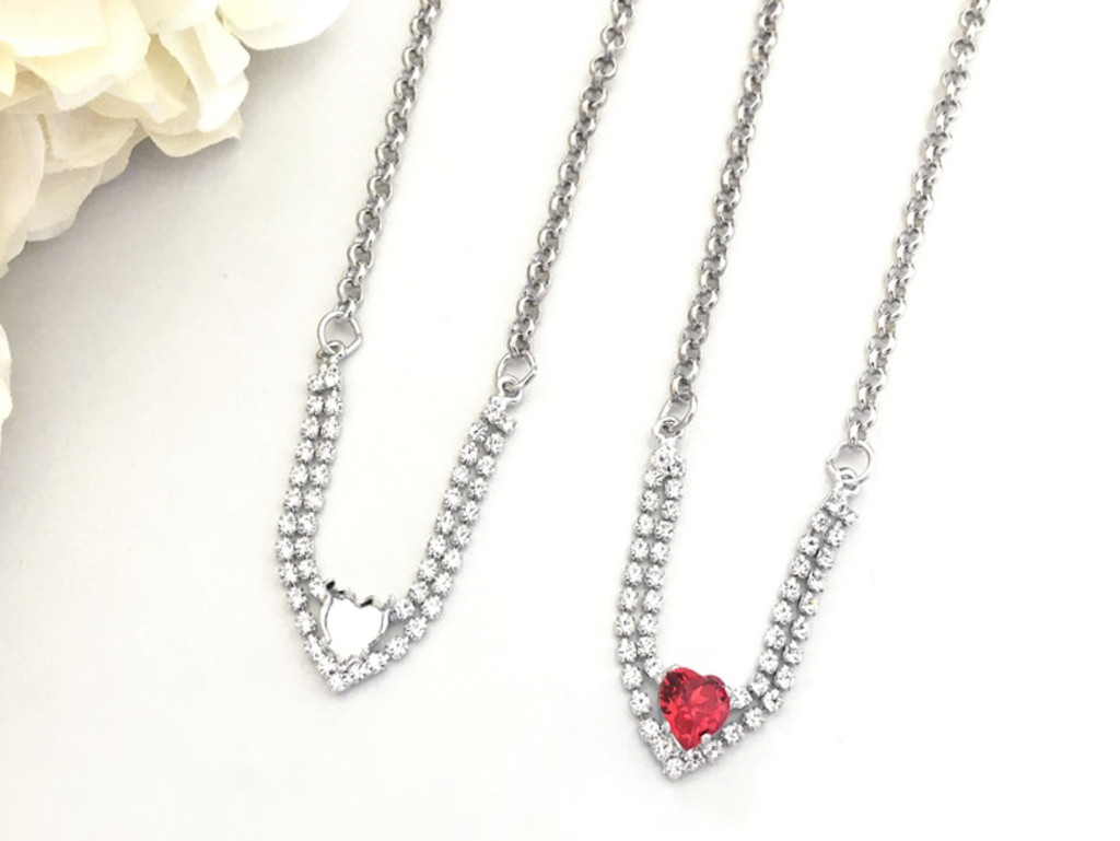 8mm Heart | Enchanted Heart Necklace | One Piece